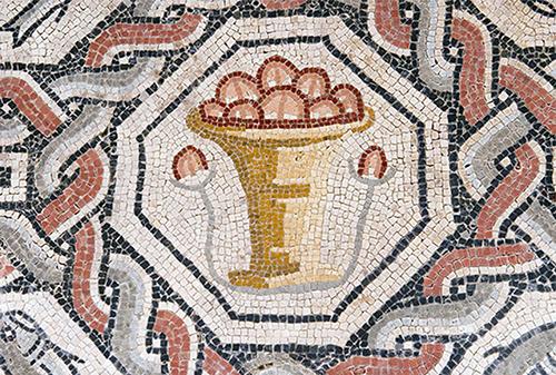 Mosaico de los peces