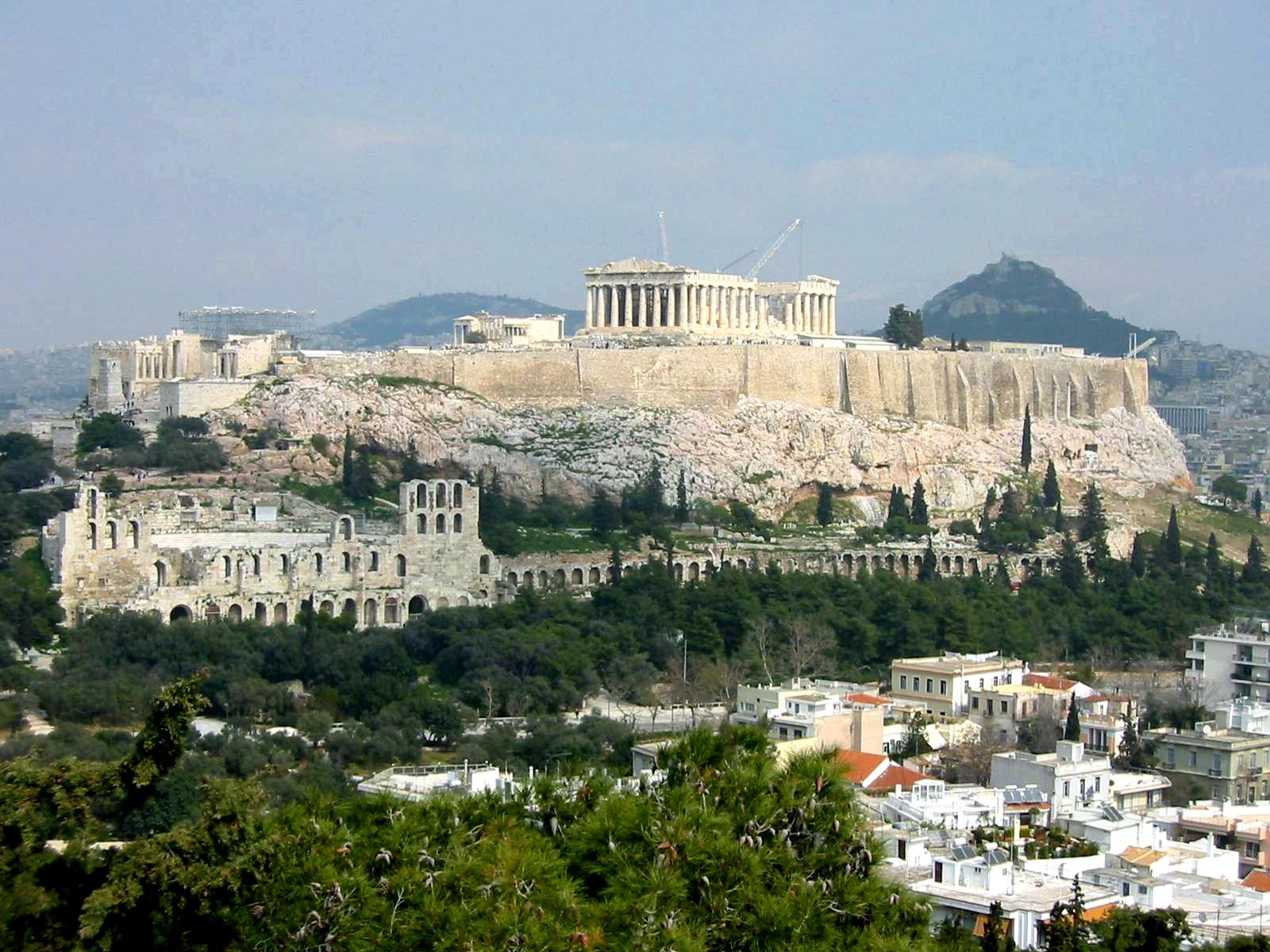 Atenas Acropolis