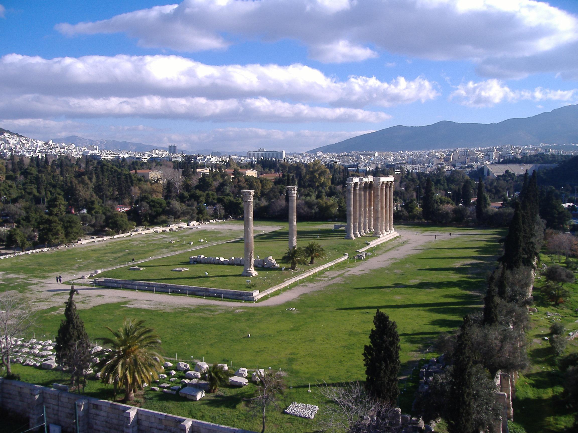 Atenas Templo de Zeus